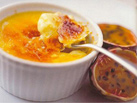 Passion Fruit Creme Brulee